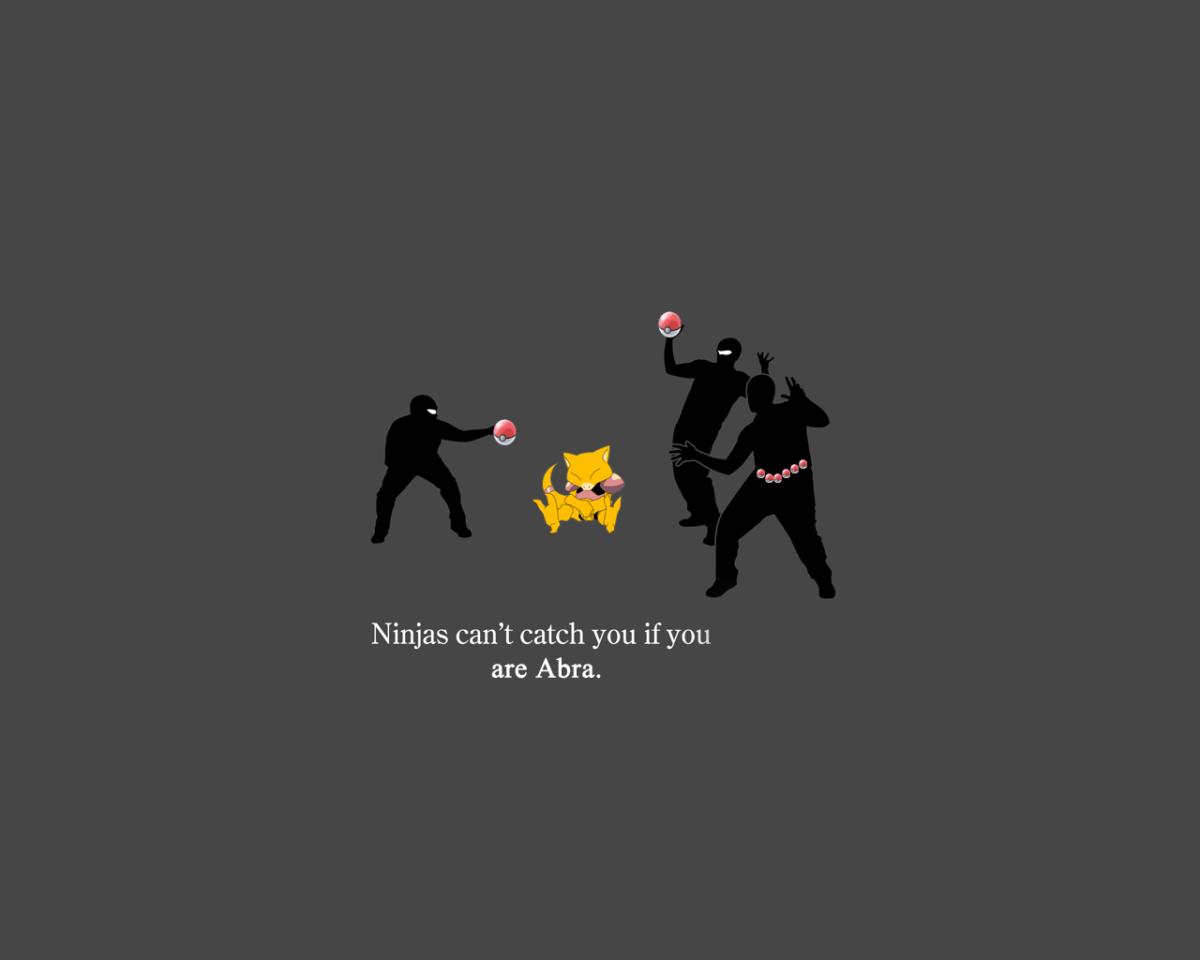 Wallpaper : illustration, silhouette, logo, ninjas, Pok balls …