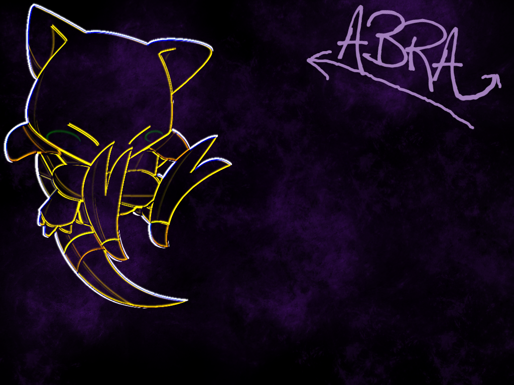 Abra background by IcebladeAbra on DeviantArt