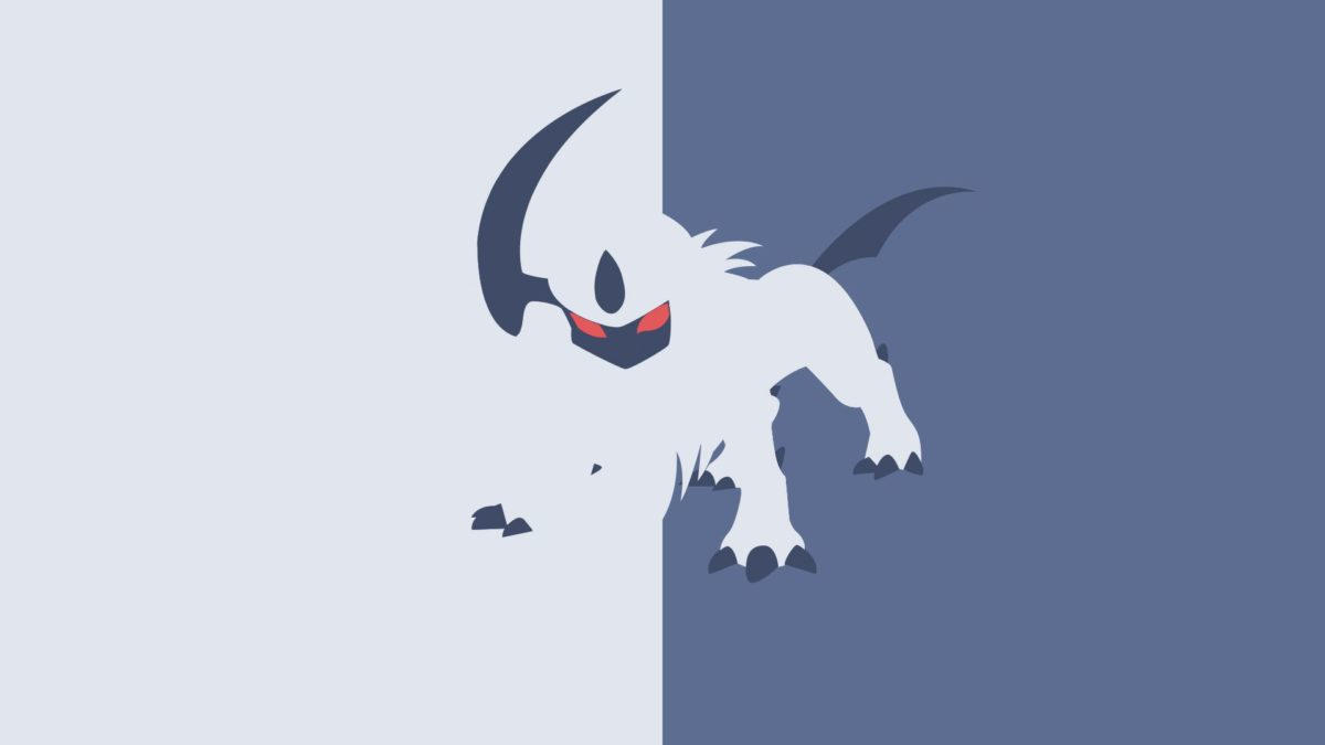 Shiny Absol Wallpaper ·①