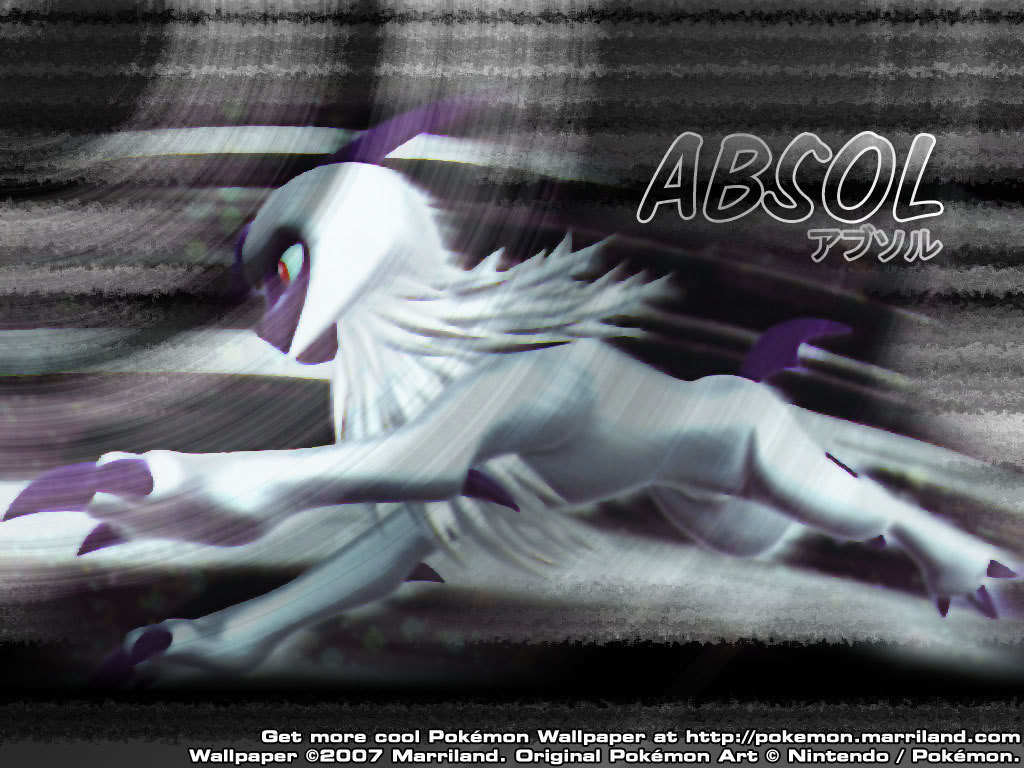 The Pokemon Absol images Absol wallpaper HD wallpaper and background …