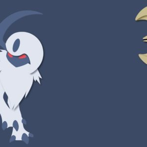 download Absol Minimalist Background (1920×1080) | Top reddit wallpapers …