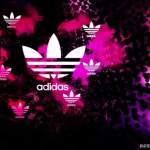 download Pink Adidas Logo Wallpaper Images & Pictures – Becuo
