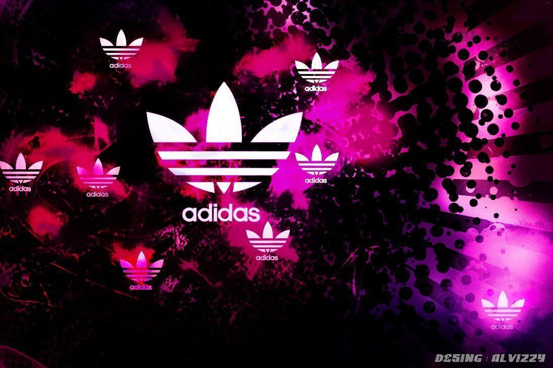 Pink Adidas Logo Wallpaper Images & Pictures – Becuo