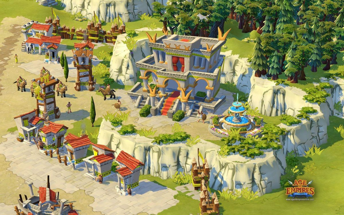 14 Age Of Empires Online HD Wallpapers | Backgrounds – Wallpaper Abyss