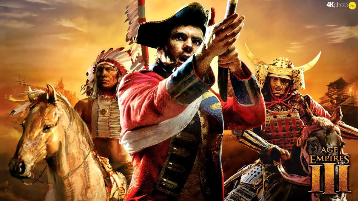 Age Of Empires 3 – Puzzle jigsaw wallpapers: 3840×2160