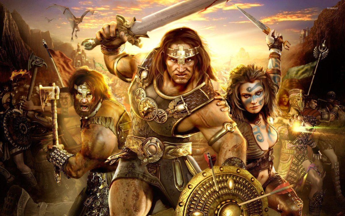 Age Of Conan: Hyborian Adventures wallpaper – Game wallpapers – #4705