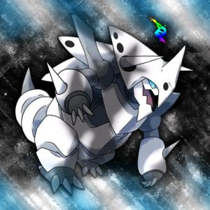 download Mega Aggron Wallpaper by Glench on DeviantArt