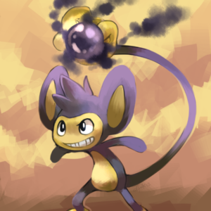 download Aipom used Shadow Ball by yassui on DeviantArt