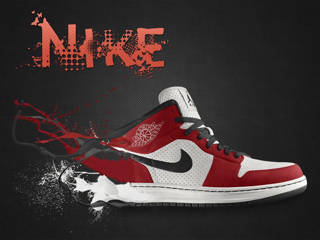 Air Jordan 1 Wallpaper – Mode Shoe