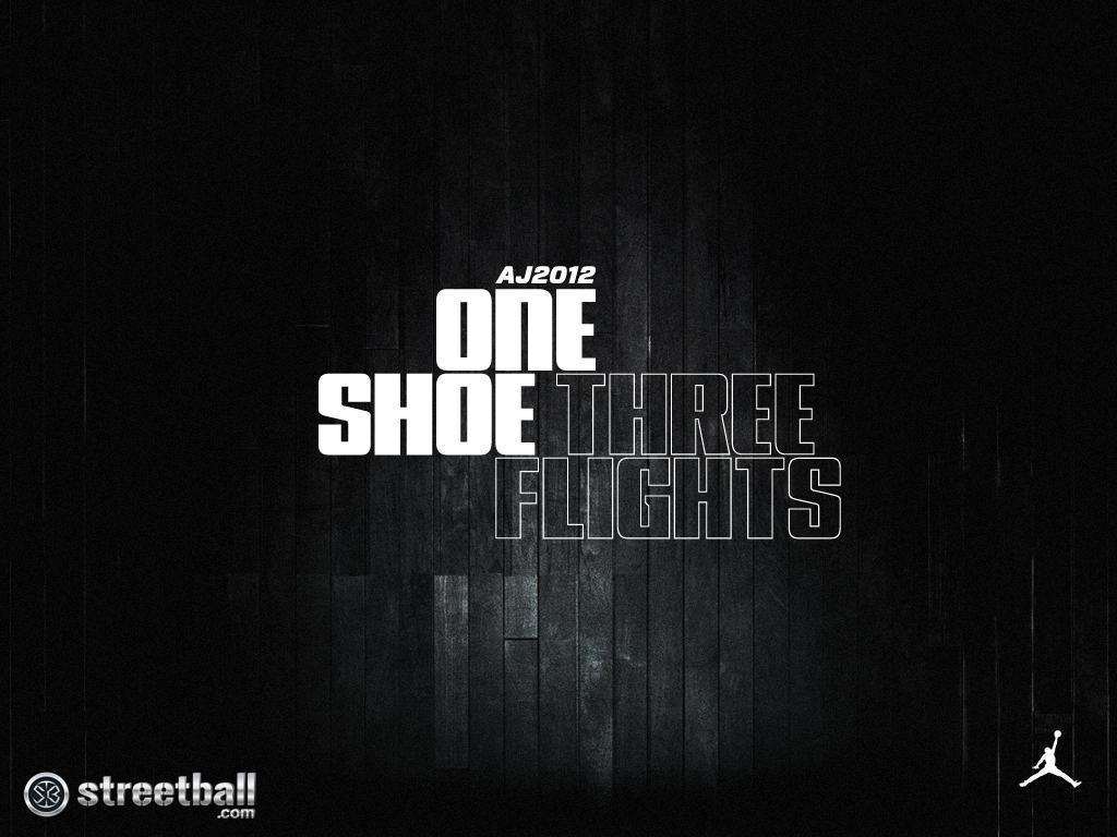 Air Jordan 2012 Black Wallpaper – Streetball