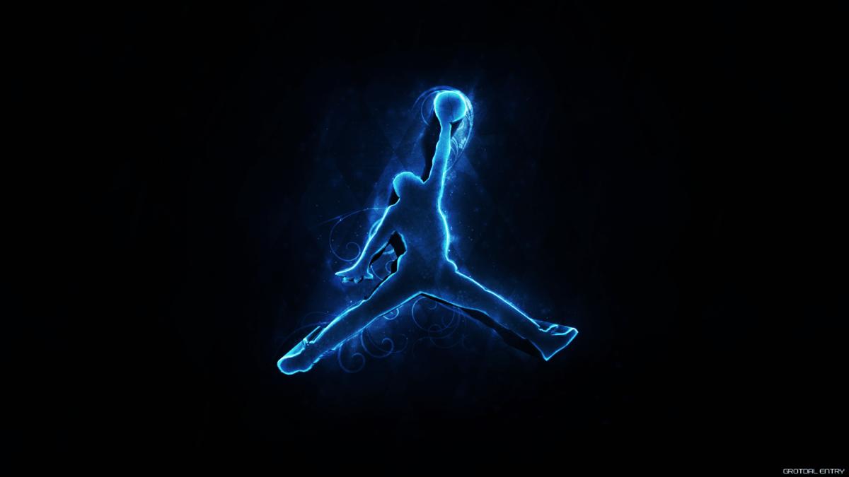 Jordan Logo Wallpaper HD | HD Wallpapers, Backgrounds, Images, Art …