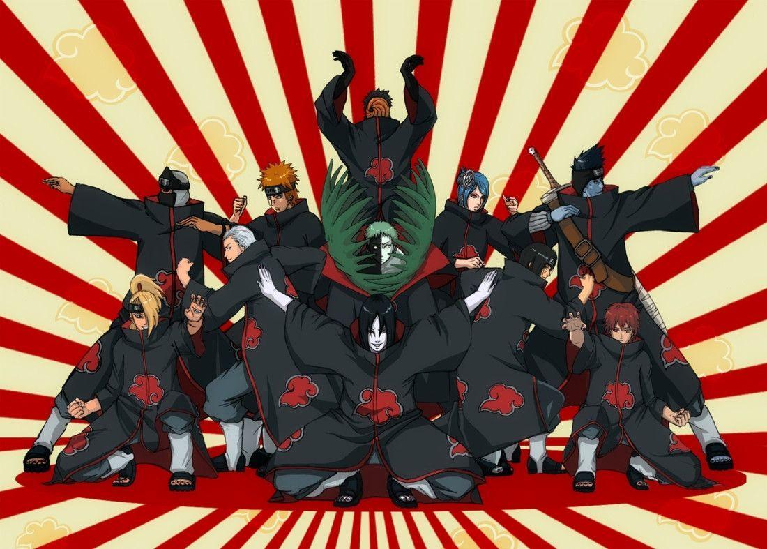 Akatsuki Wallpaper HD Free Download Anime Naruto Akatsuki Wallpaper
