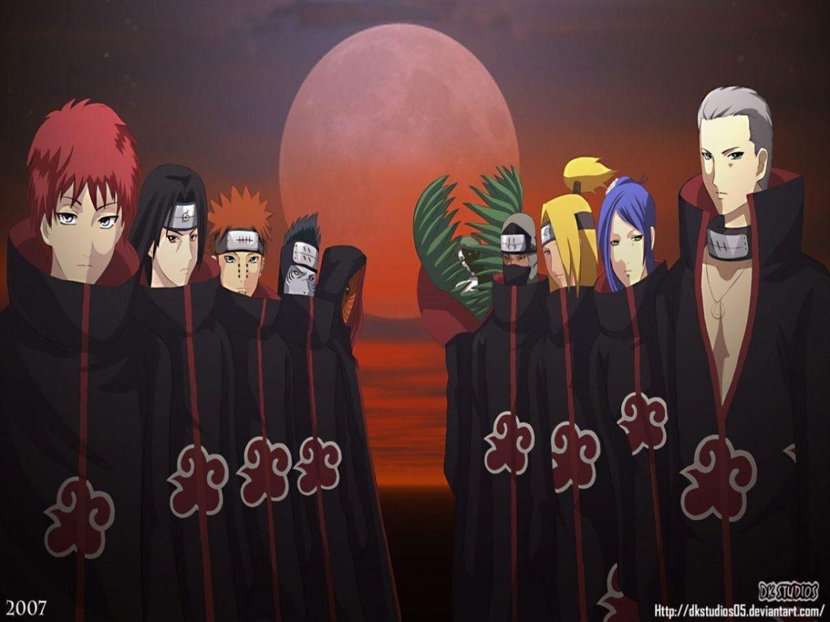 Naruto Shippuden Akatsuki HD Background Wallpaper – Anime Powericare.