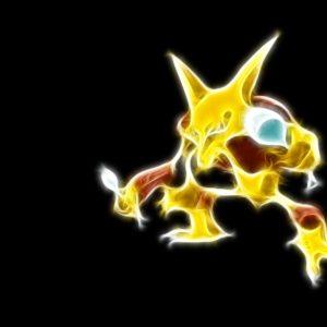 download Pokemon Neon Alakazam HD Wallpaper – GamePhD