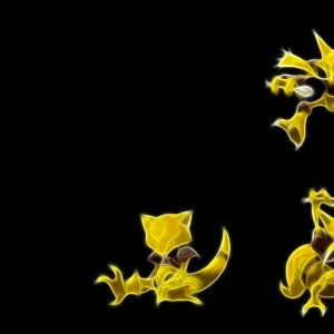 download pokemon abra alakazam black background 1920×1200 wallpaper High …