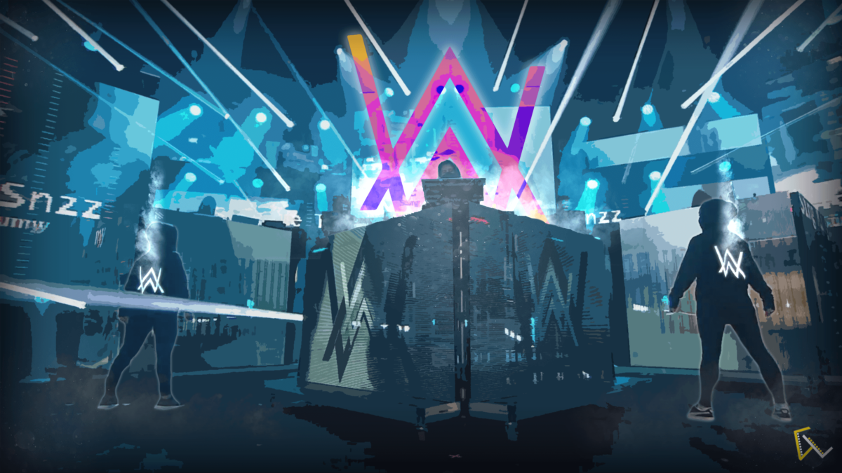 Alan Walker Background