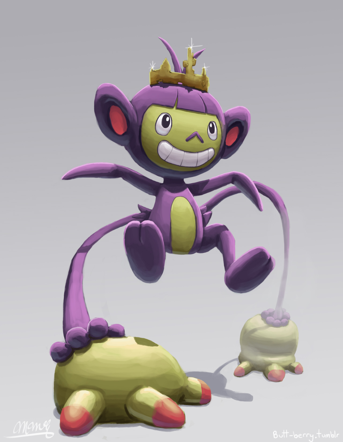 King Ambipom   Pokemon   Pinterest   Pokémon