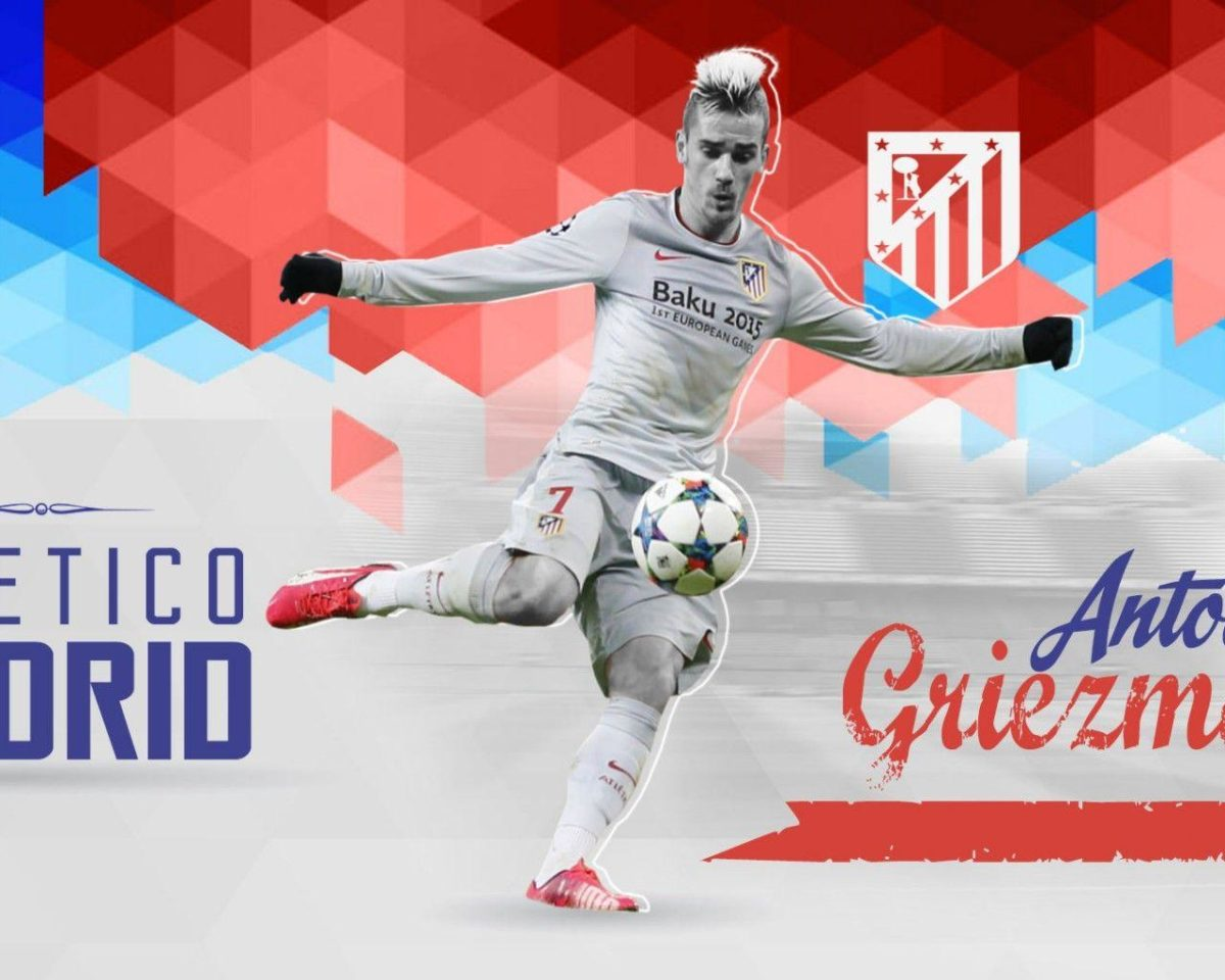 Antoine Griezmann Atletico Madrid Wallpaper – Football Wallpapers HD
