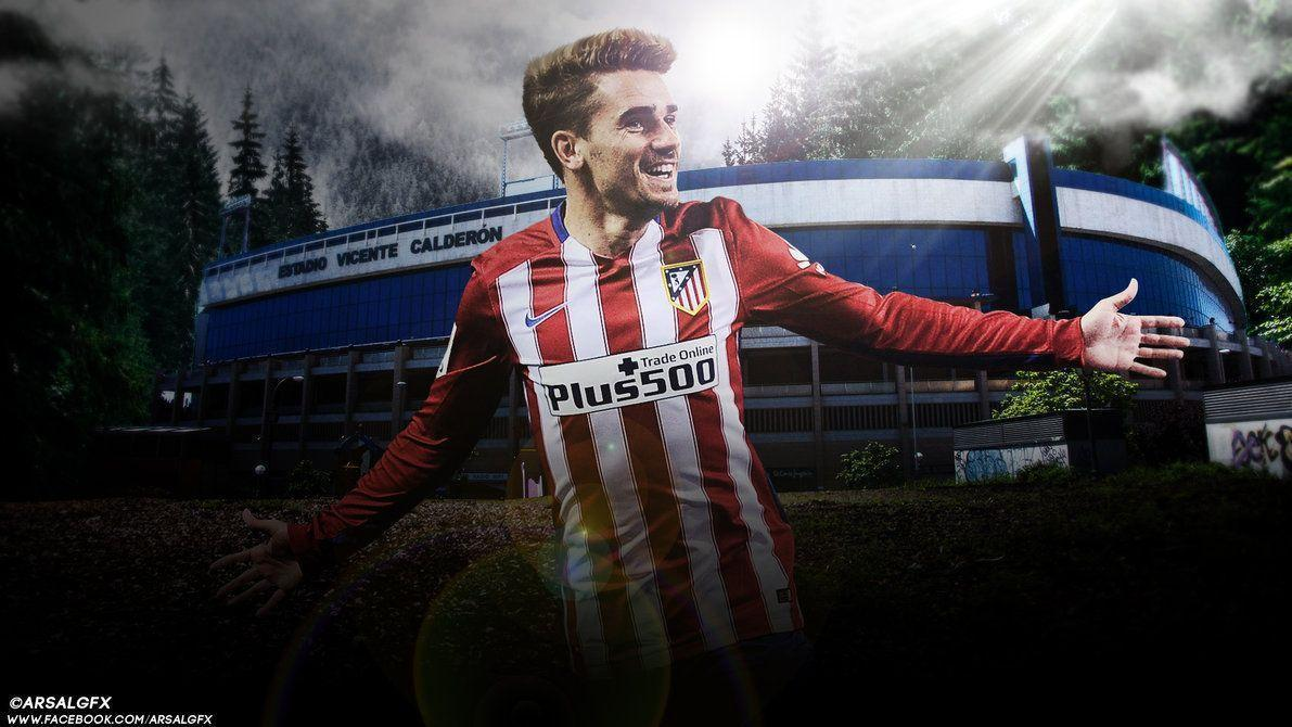 Antoine Griezmann by ArsalGfx on DeviantArt