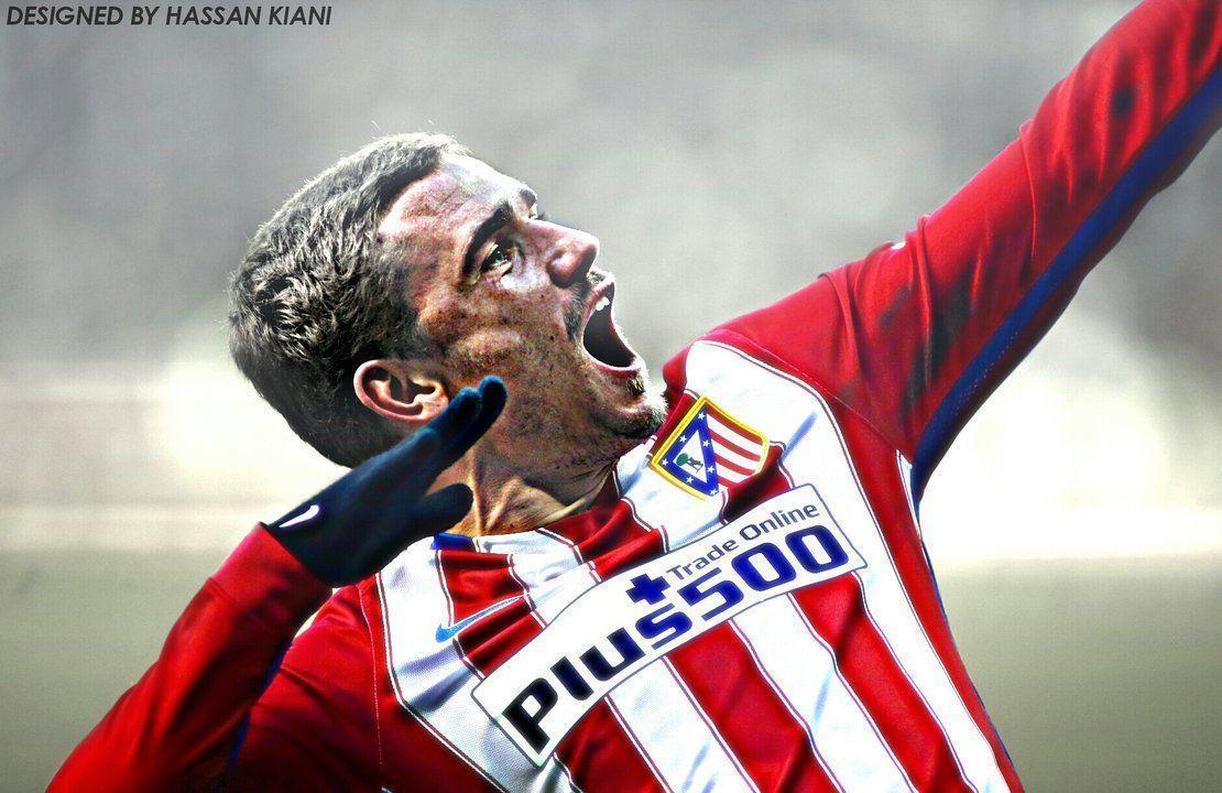 Antoine Griezmann Wallpaper 2015/16 by HassanGraphics7 on DeviantArt
