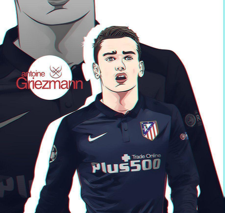 Antoine Griezmann Vector by imfGFX on DeviantArt