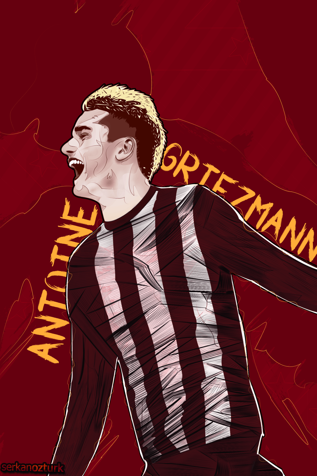 Antoine Griezmann by Serkan1905 on DeviantArt