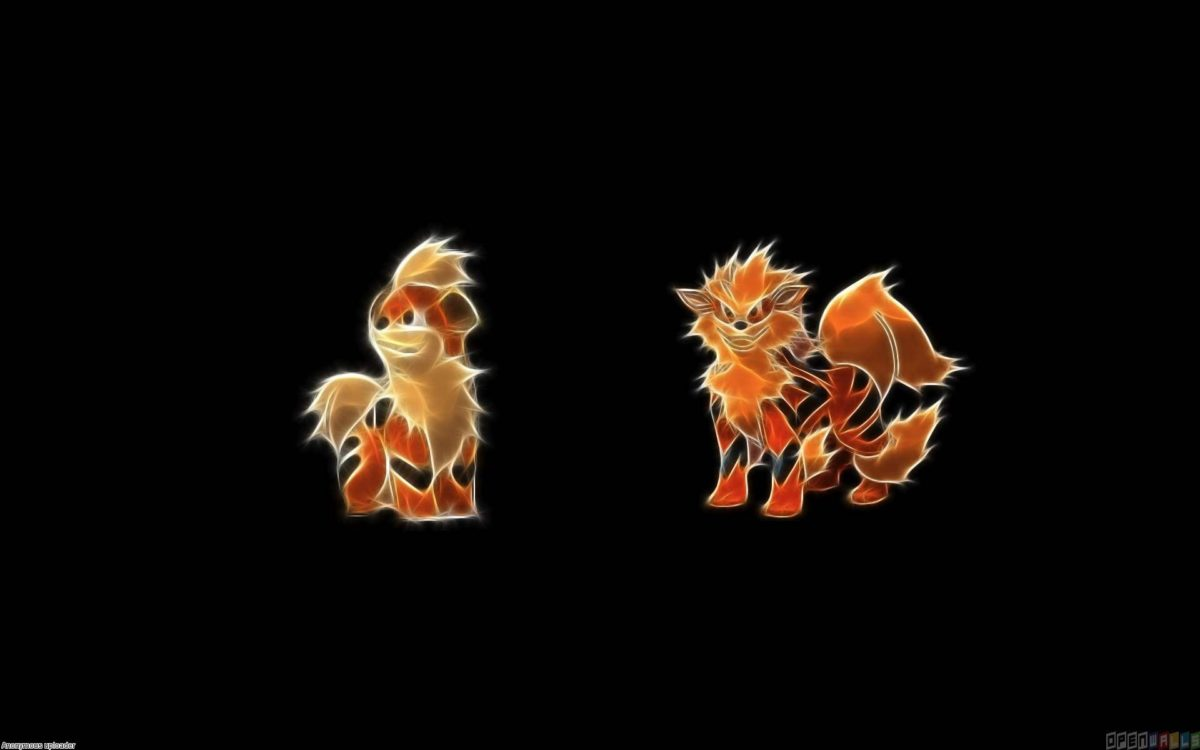 Growlithe and arcanine wallpaper #21236 – Open Walls