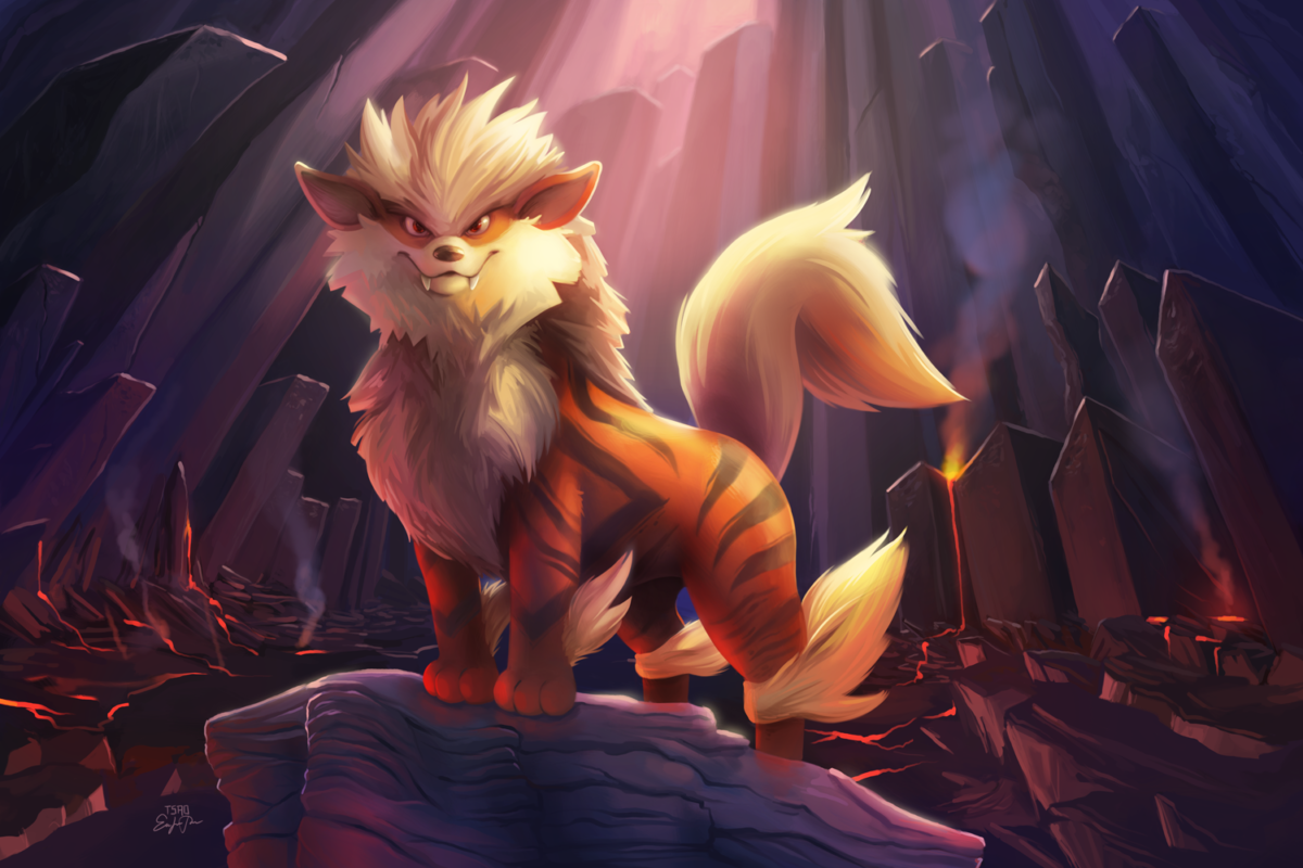 Arcanine Pokemon, HD Artist, 4k Wallpapers, Images, Backgrounds …