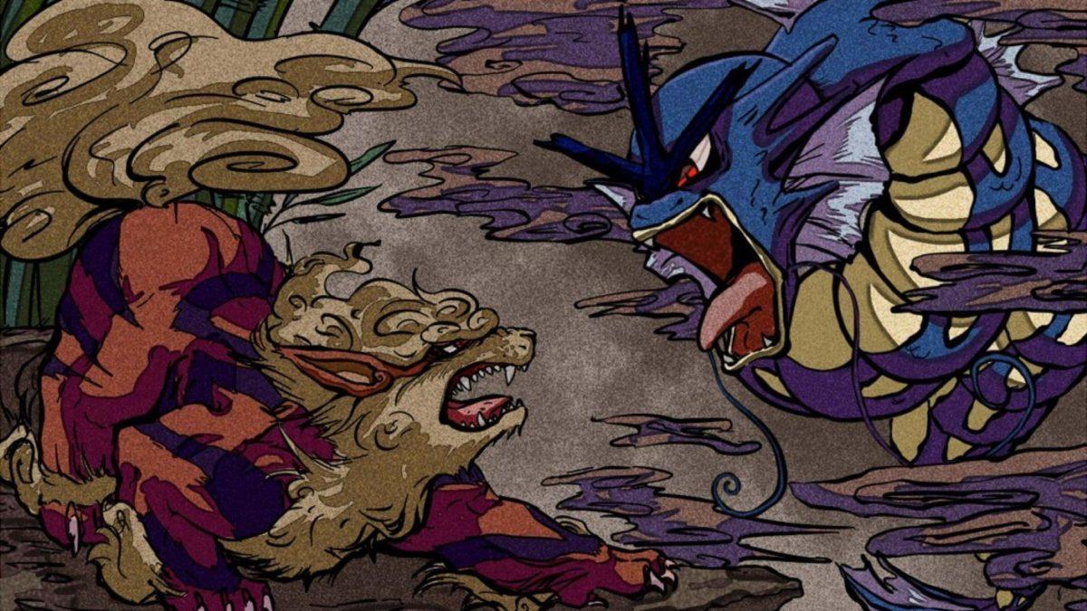 Nintendo pokemon video games gyarados artwork arcanine wallpaper …