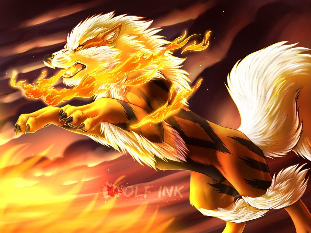 Arcanine + video by UKthewhitewolf on DeviantArt