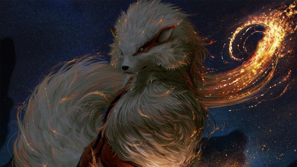 Wallpaper Arcanine, Fire Pokemon, HD, Games, #6366