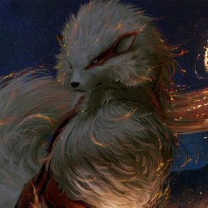 download Wallpaper Arcanine, Fire Pokemon, HD, Games, #6366