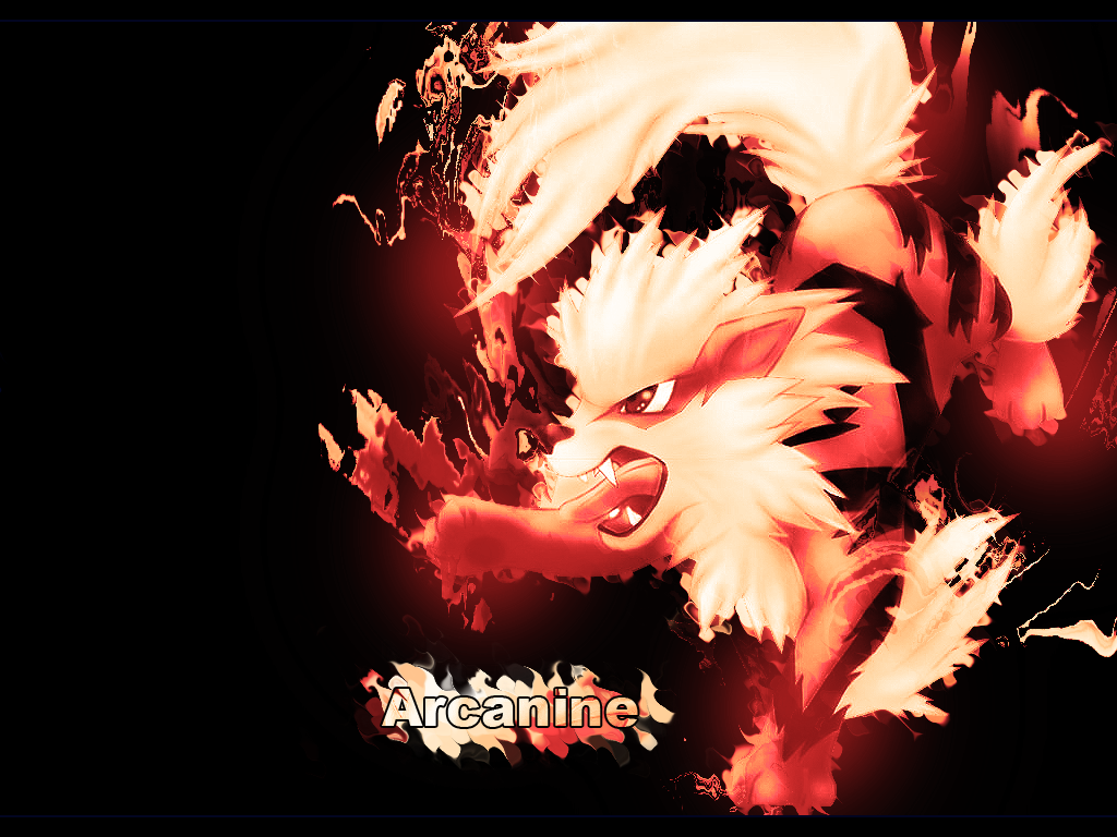 Arcanine Wallpaper by YoungLinkGFX on DeviantArt