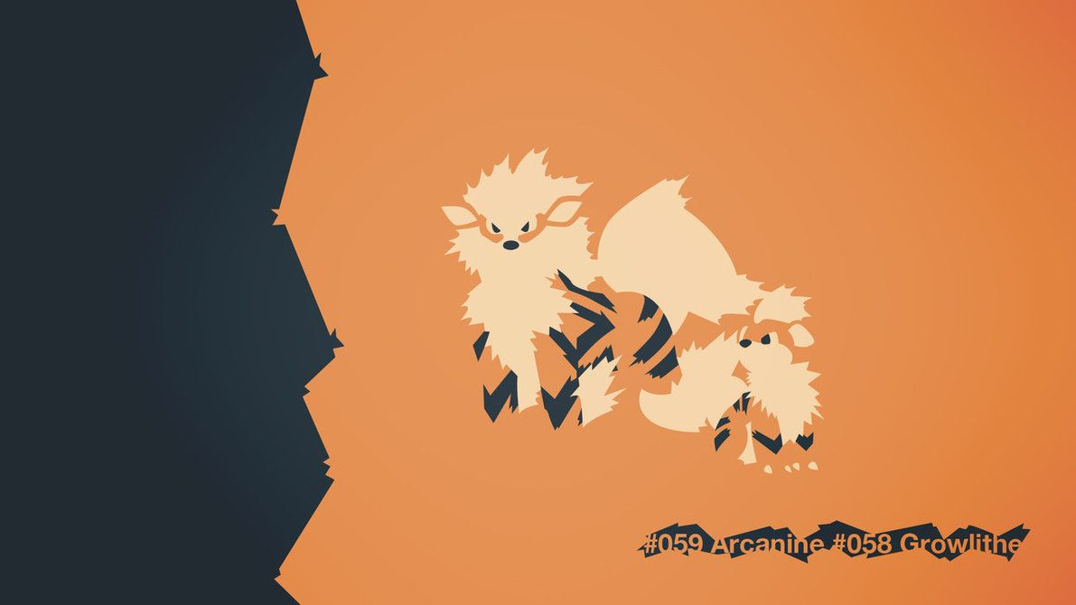 059 Arcanine 058 Growlithe by EYEofXANA on DeviantArt