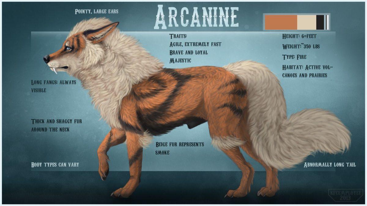Growlithe And Arcanine Wallpaper, PC Growlithe And Arcanine …