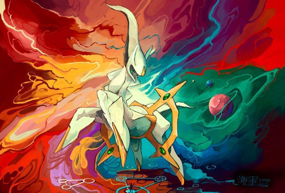 Arceus Pokemon – Hd Wallpapers