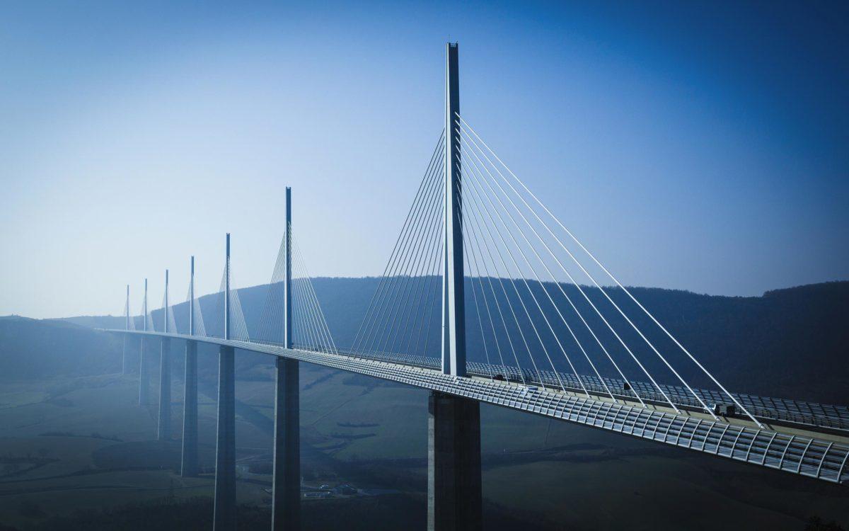 millau-viaduct-architecture-wallpaper | Nalashaa | Custom Product …
