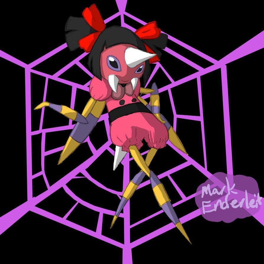 Pokemon x Undertale (Ariados x Muffet) by Enderleit on DeviantArt