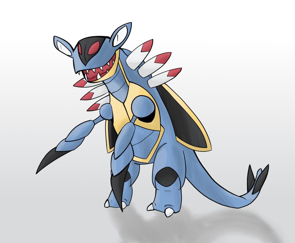 Armaldo – Pokemon types challenge #2 by lotsofmudkips on DeviantArt