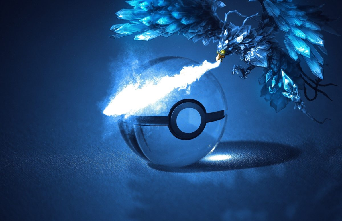 video games poke balls anivia articuno 2584×1672 wallpaper High …