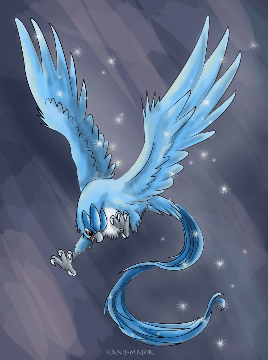 Articuno by Kosmotiel on DeviantArt
