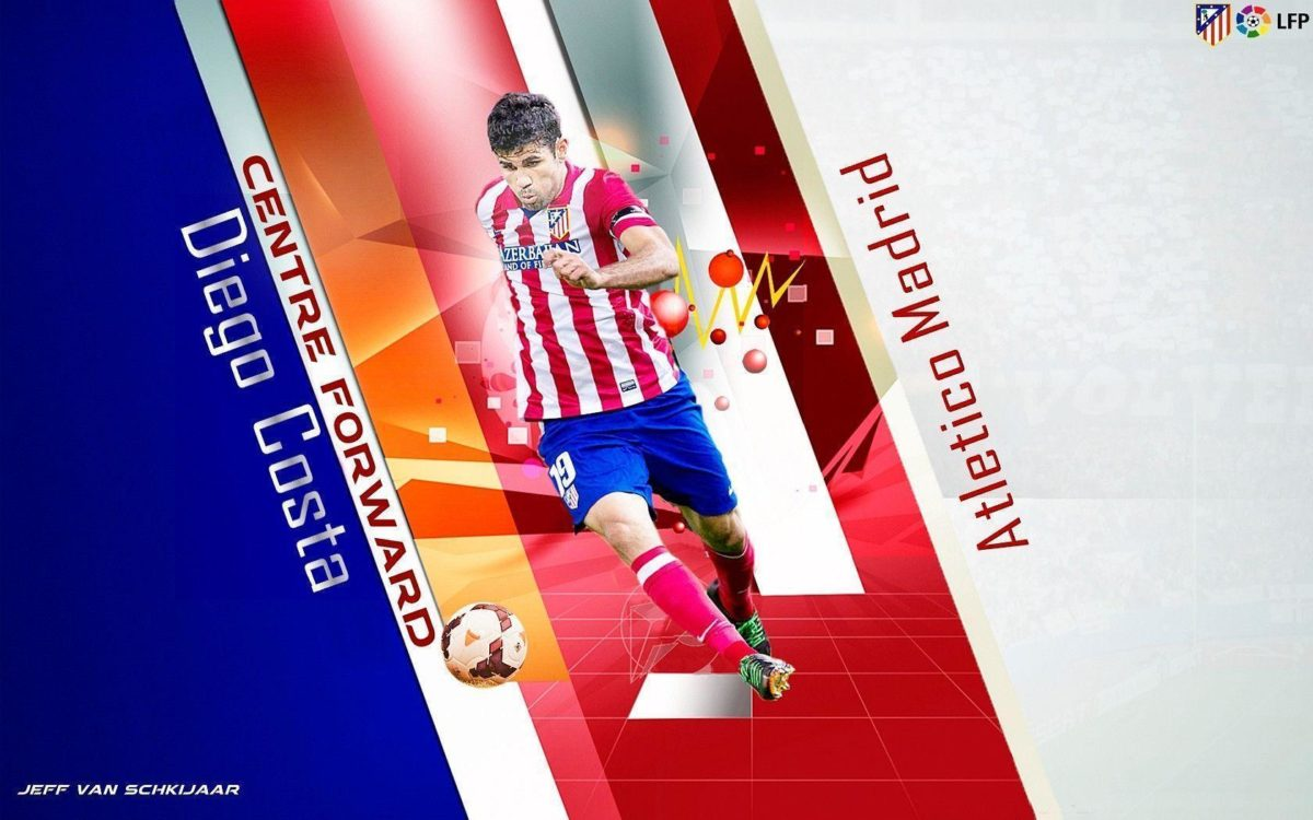 DeviantArt: More Like Diego Costa Atletico Madrid Wallpaper 2014 …