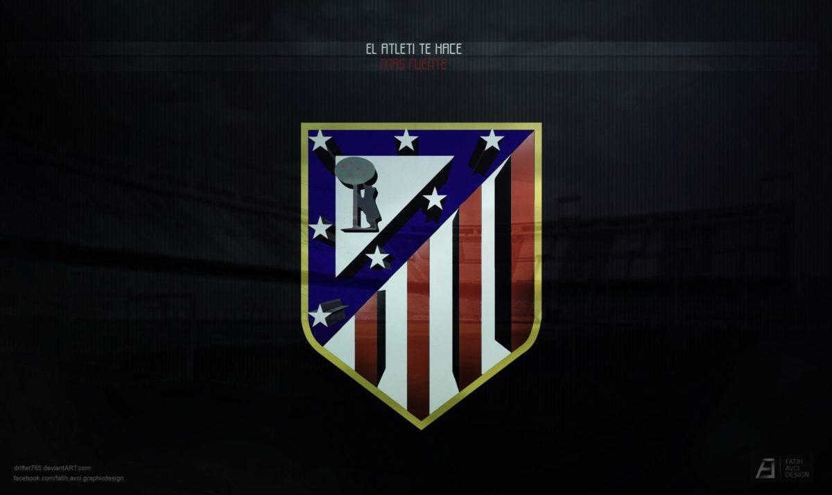 Atletico madrid logo HD wallpaper backgrounds desktop – FIFA Football
