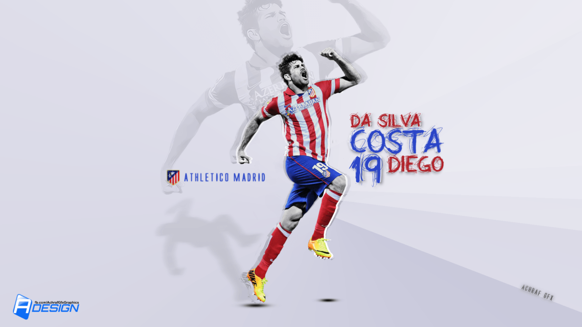 diego costa atletico madrid 2014 wallpaper | Desktop Backgrounds …