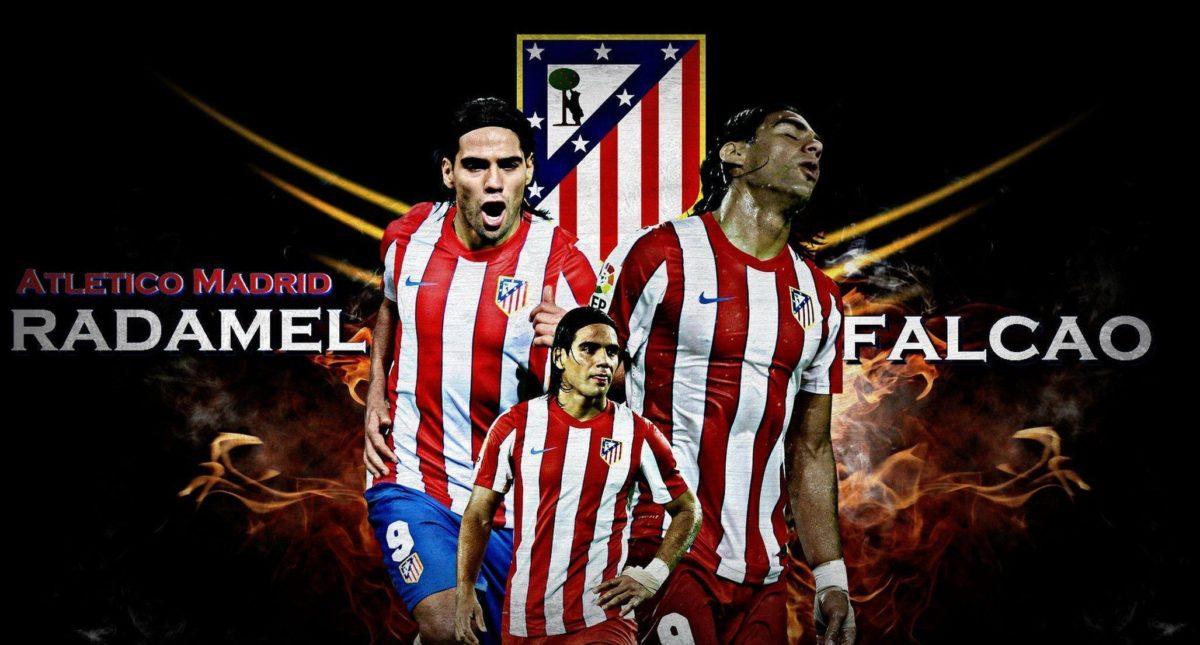 Atletico Madrid Radamel Falcao Wallpaper | Free Download Wallpaper …