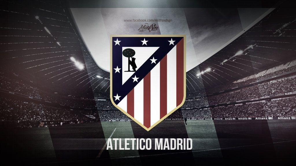 Atletico Madrid | Wallpaper by MustafaSenGraphic on DeviantArt
