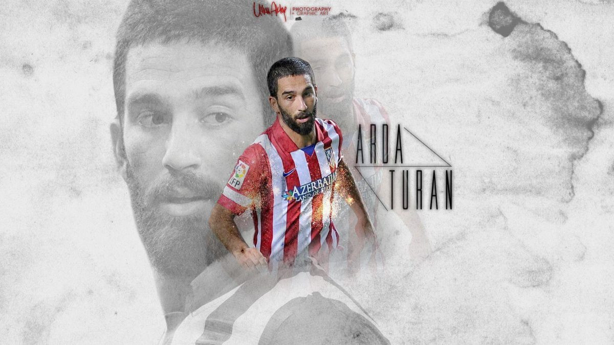 Arda Turan Atletico Madrid HD WALLPAPER 2013 by UtkuGrafik on …