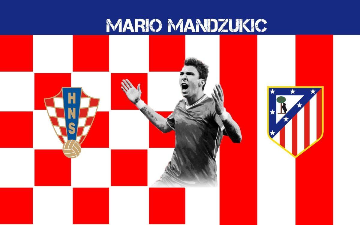 Mario Mandzukic 2014 Atletico De Madrid Wallpaper Wide or HD …