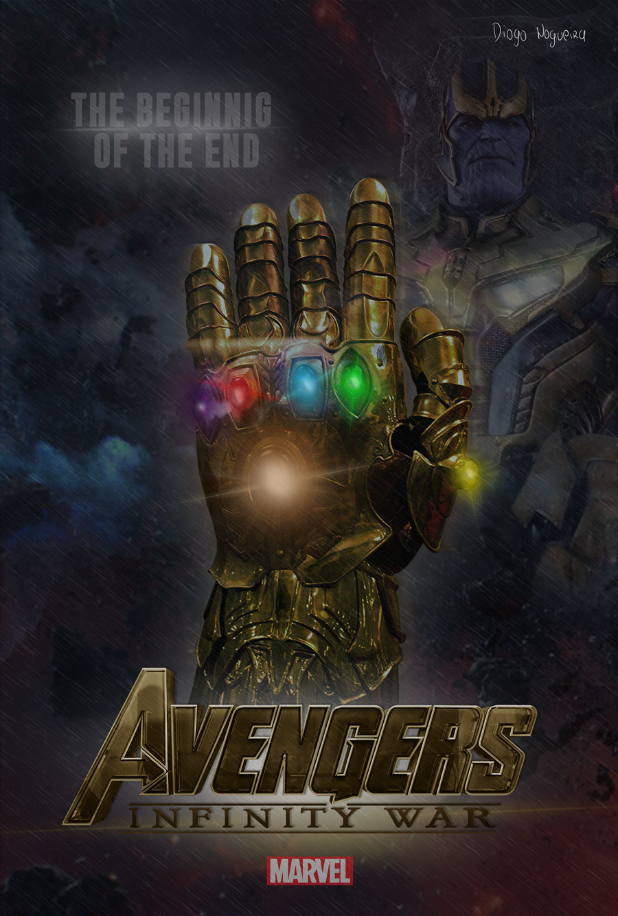 Thanos – Avengers: Infinity War by diogosnog on DeviantArt