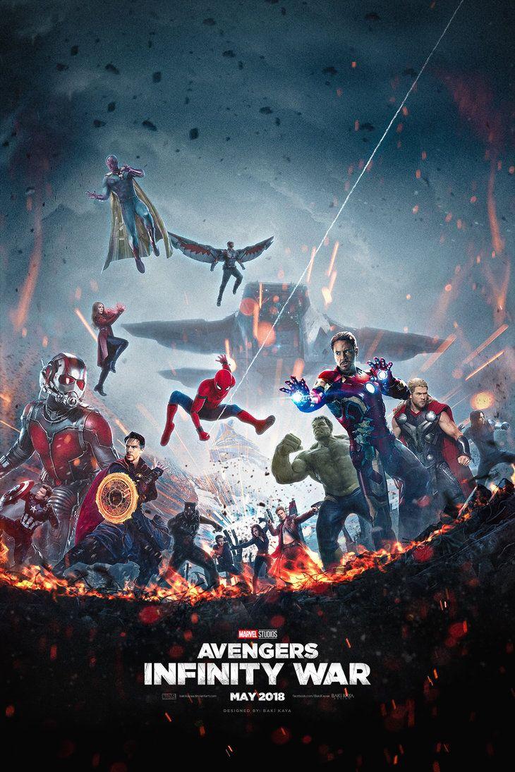 Avengers: Infinity War Poster #3 by bakikayaa on DeviantArt